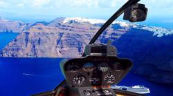 Helicopter Tour Santorini