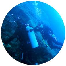 Caldera reef
