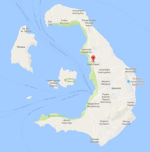 Fira Map