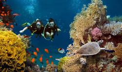 Scuba diving Santorini