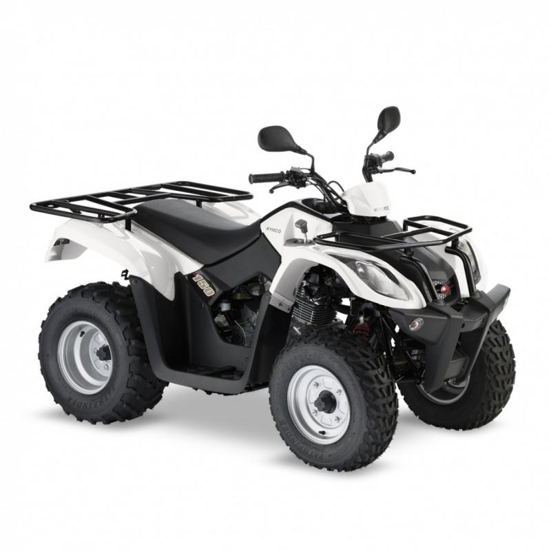 Kymco white mxu 150cc