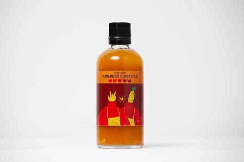 Habanero Pineapple hot sauce 100ml