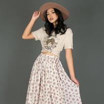 High-Low Boho Skirt