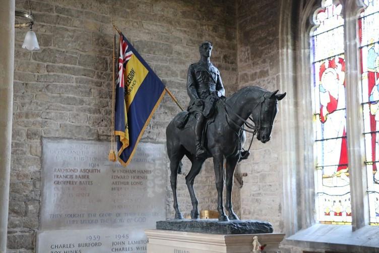 The Mells Horse Sculpture