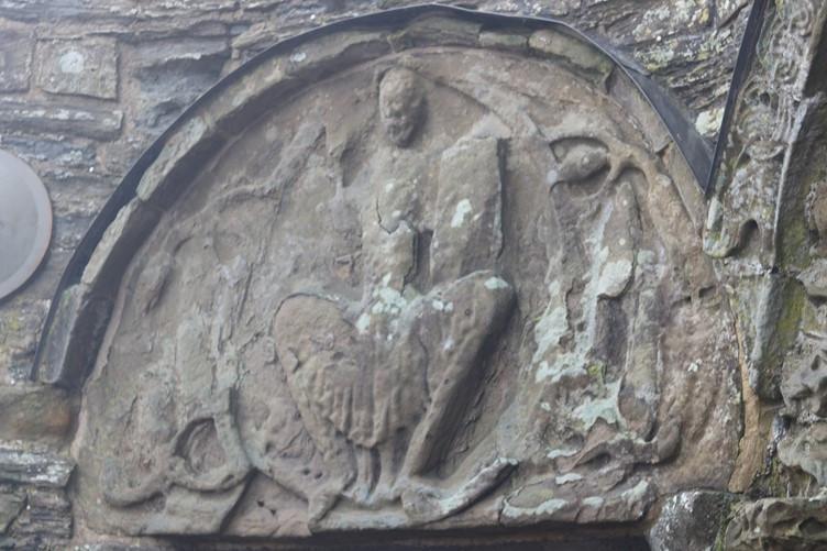 Evocative stone carving