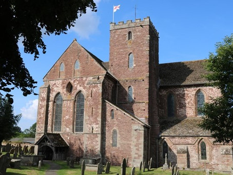 VISIT   The Church that once was an Abbey - Dore Abbey at Abbeydore   Herefordshire