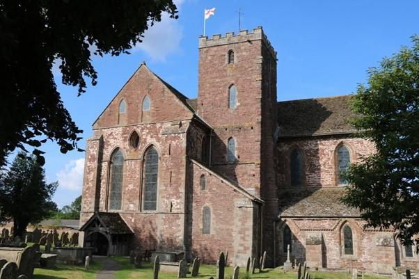 Abbeydore Church