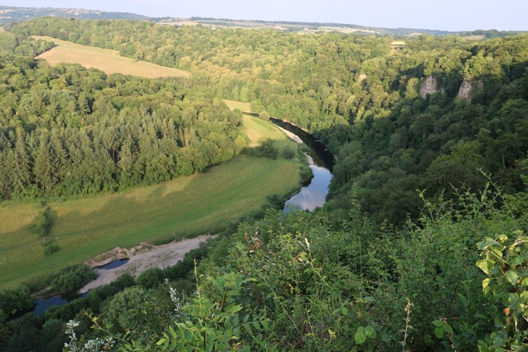 The Meander in the River Wye