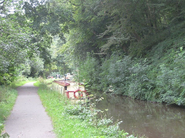 The Monmouthshire and Brecon Canal at Goytre Wharf