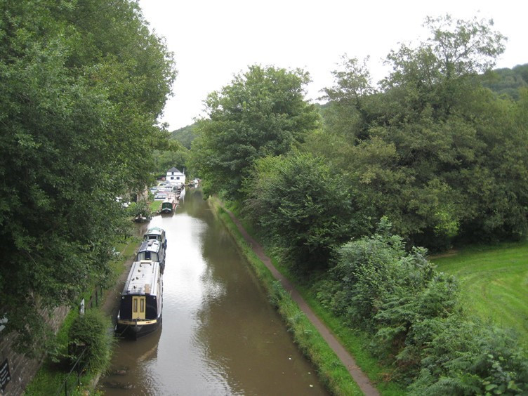 The Monmouthshire and Brecon Canal near Abergavenny