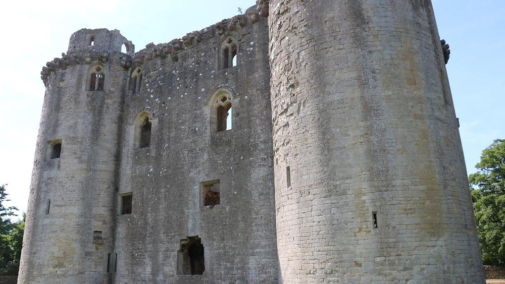 The Impressive Nunney Castle Ruins