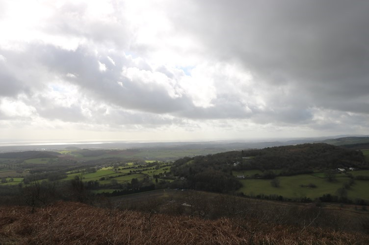 High and Low - Views of the River Severn beyond