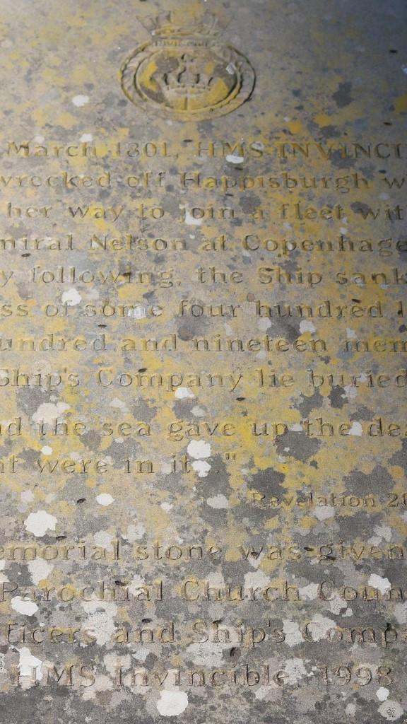 A Memorial to HMS Invincible