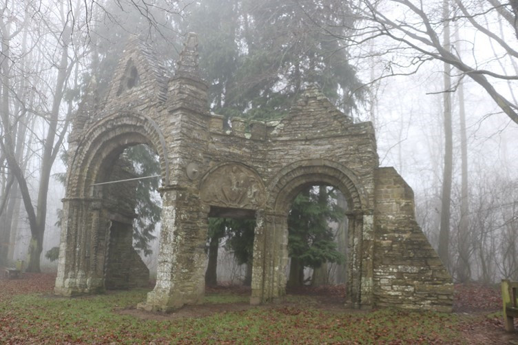 Shobdon's Arches in the Mist
