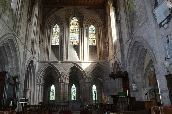 The Grand Arches and Windows Inside