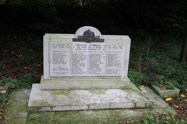 The Parnall Aircraft Works Memorial at Yate