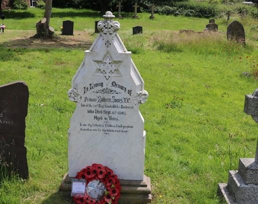 The Grave of Robert Jones VC