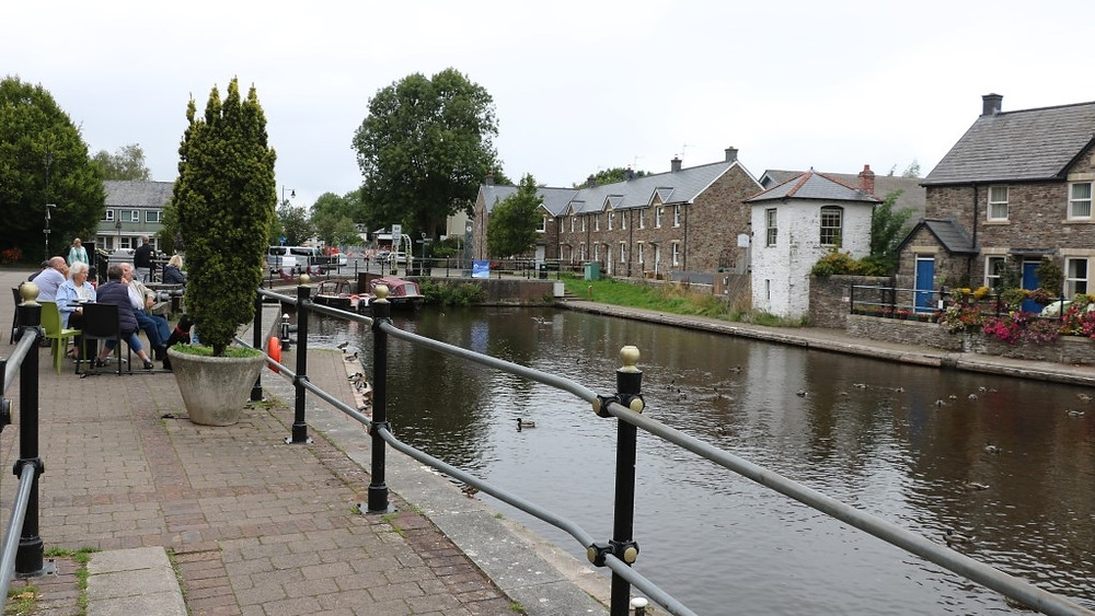 The Brecon Canal Basin