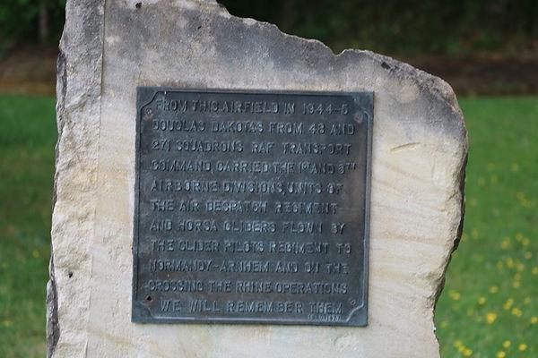 Down Ampney Airfield Memorial