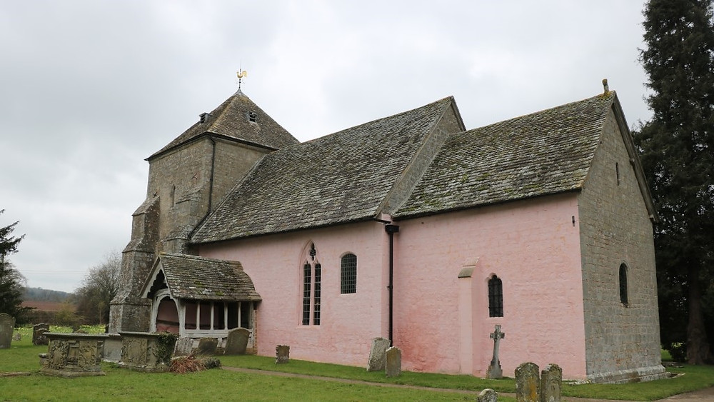 The Old Old Church of Kempley
