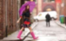 пешие прогулки, как похудеть, модные резиновые сапожки