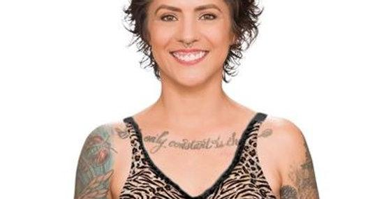 Trulife Barbara Non Underwire Mastectomy Bra Exotic Black 210