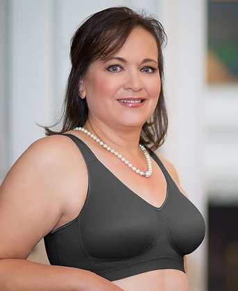 ABC Everyday Comfort Non Underwire Mastectomy Bra Black 525