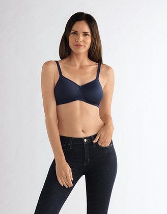Amoena Mara Non Underwire Mastectomy Bra Dark Blue 44416