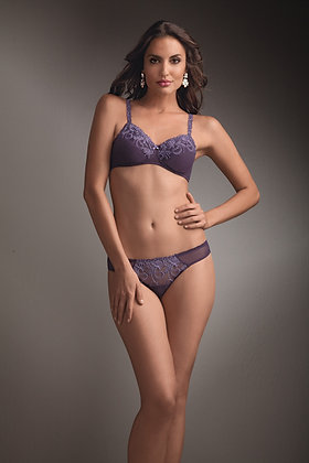 Amoena Danielle Underwired Mastectomy Bra Plum (up to size 22)