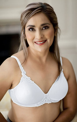 ABC Petite T-Shirt Non Underwired Mastectomy Bra White 105