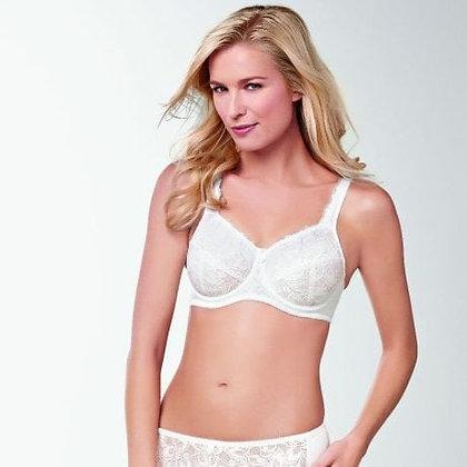 Amoena Rebecca Underwire mastectomy bra white 807