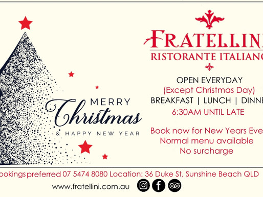Happy Holidays From Fratellini