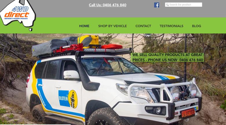 Kunda Park 4wd suspension kits website