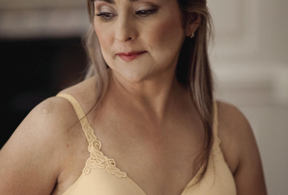 ABC Petite T-Shirt Non Underwired Mastectomy Bra nude 105