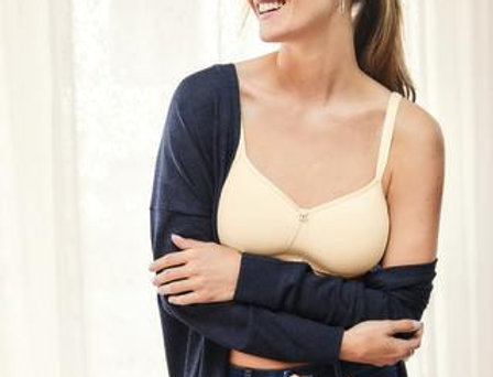 Amoena Mara Non Underwire Padded Soft Mastectomy Bra Off White 44534