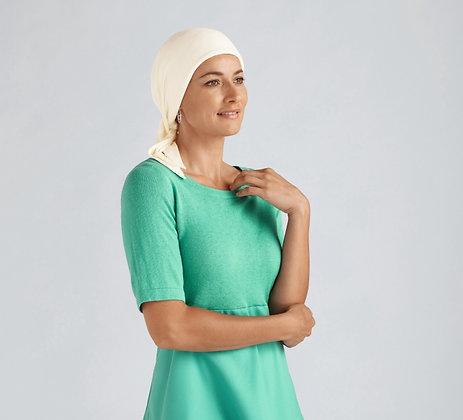 Amoena Clover Headscarf Ivory 43532