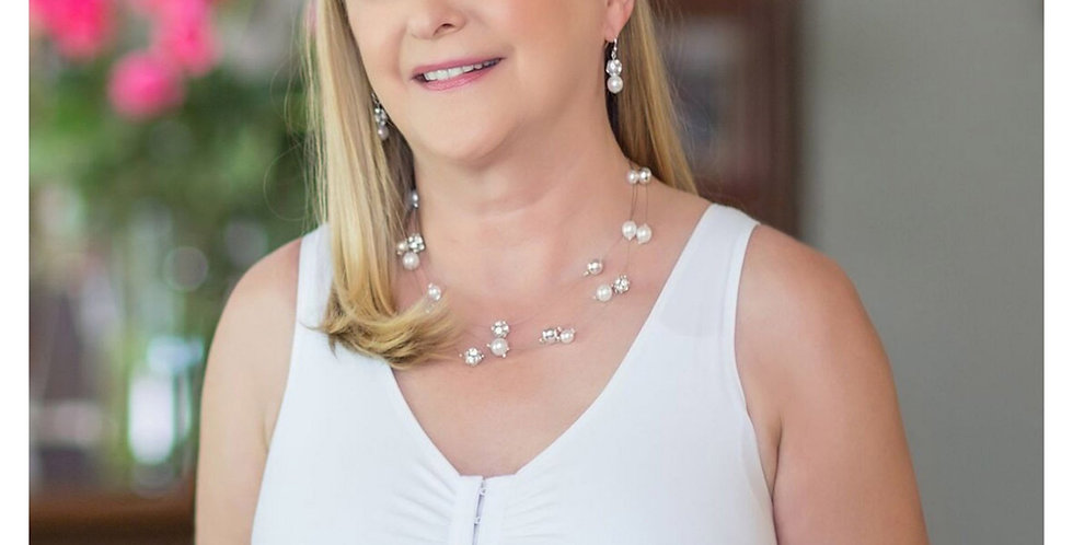 ABC Leisure Front Opening Non Underwire Mastectomy Bra White 110
