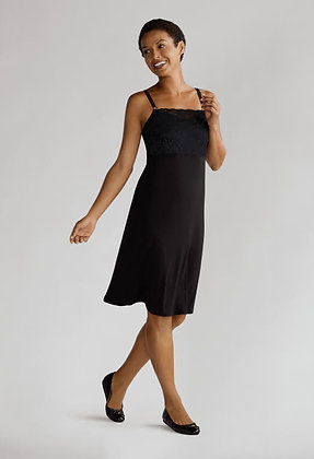 Amoena Mastectomy Spaghetti Dress - Black 44400 Small
