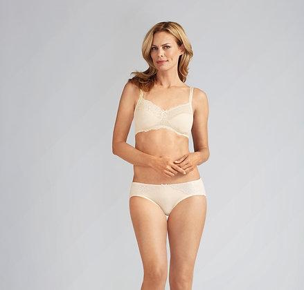 Amoena Lilly Non Underwire Mastectomy Bra Off-White 43910