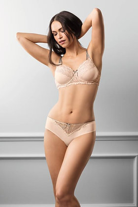 Amoena Celine Underwired Mastectomy Bra - Light Rose / Grey 44511