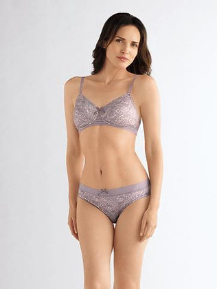 Amoena Blair Non Underwire Mastectomy Bra Dusty Lilac 44441
