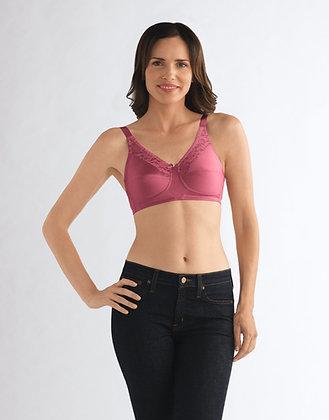 Amoena Nancy Non Underwire Mastectomy Bra Wild Rose B-F