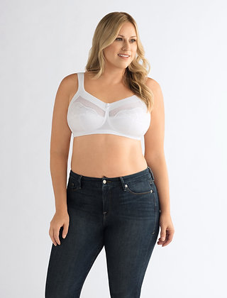 Amoena Isadora Non Underwire Mastectomy Bra White 947