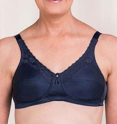 Trulife Barbara Non Underwire Mastectomy Bra Midnight Blue 210