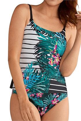 Amoena Mexico Mastectomy Tankini 71152 sizes 10, 12
