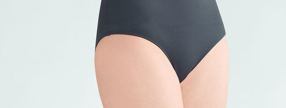 Amoena Ayon High Waisted Bikini Brief Black/White 71118