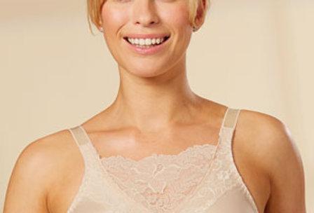 Trulife Jessica Cami Non Underwire Mastectomy Bra Nude 4019