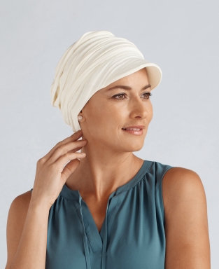 Amoena Tigerlily Headscarf Ivory 43482