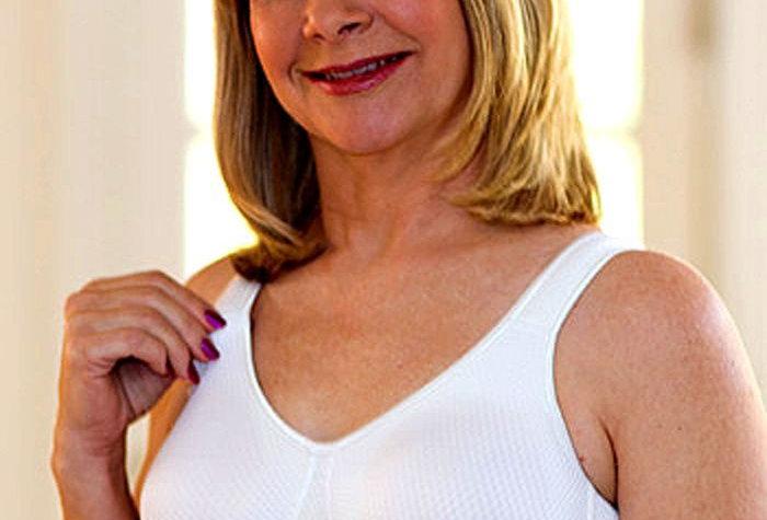 ABC 525 Everyday Massage Comfort Mastectomy Bra White 525