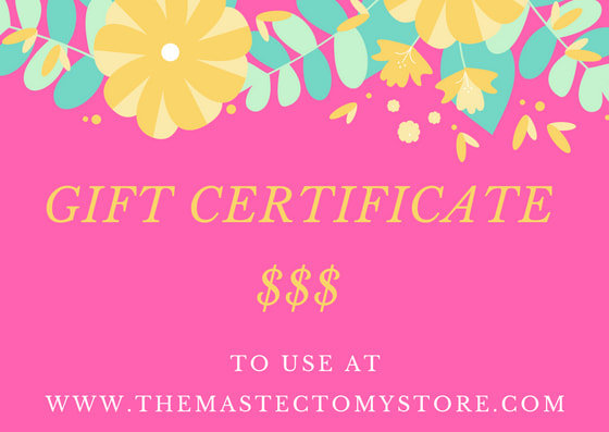 The Mastectomy Store Gift Certificate